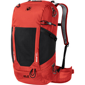 Jack Wolfskin Kingston 30 Recco Sac à dos, lava red
